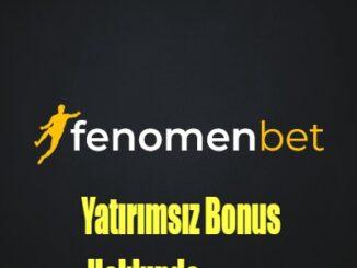 yatırımsız bonus hakkında